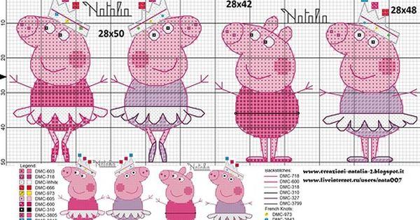 Туника Свинка Пеппа. Рисунок