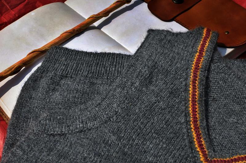 Расчёт вязания жилетки